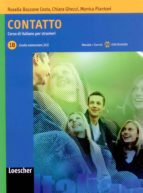 contatto 1b. libro studente + cd audio 9788820111052