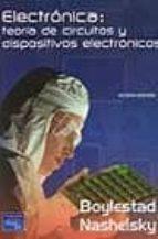 electronica: teoria de circuitos y dispositivos electronicos (8ª ed.)-robert boylestad-louis nashelsky-9789702604365