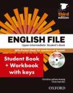 english file upper intermediate. student s book with workbook with answers (3rd ed.) 9780194558662