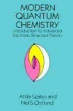 modern quantum chemistry neil s. ostlund attila szabo 9780486691862