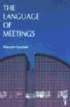 the language of meetings-9780906717462