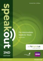 speakout pre intermediate 2nd edition students  book with dvd rom and myenglishlab access code pack 9781292115962