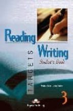 reading & writing targets 3. student s book virginia evans jenny dooley 9781903128862