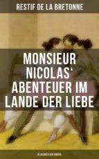 monsieur nicolas' abenteuer im lande der liebe (klassiker der erotik) (ebook) restif de la bretonne 9788027217762