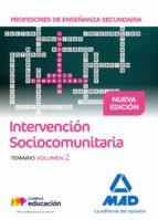 profesores de enseñanza secundaria intervención sociocomunitaria temario volumen 2 9788414208762