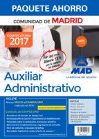 paquete ahorro auxiliar administrativo de la comunidad de madrid 9788414209462