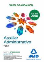 auxiliar administrativo de la junta de andalucía. test 9788414216262