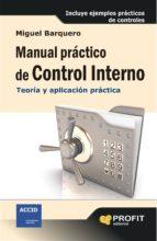 manual practico de control interno miguel barquero 9788415735762