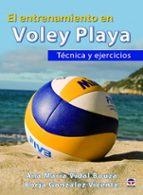 entrenamiento en voley playa ana maria vidal borja gonzalez 9788416676262