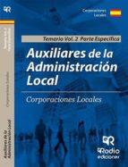 auxiliares de administración local (vol. 2) parte especifica-9788417287962