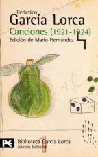 canciones: 1921-1924-federico garcia lorca-9788420633862