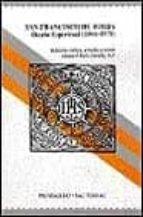 san francisco de borja. diario espiritual (1564 1570) manuel ruiz jurado 9788429312362
