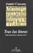 tras las lineas: sobre la lectura contemporanea-daniel cassany-9788433962362