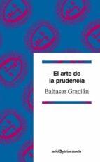 el arte de la prudencia-baltasar gracian-9788434400962