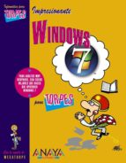 windows 7 (informatica para torpes) vicente trigo aurora conde martin 9788441526662