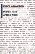 declaracion michael hardt antonio negri 9788446037262