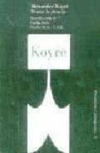 pensar la ciencia-alexandre koyre-9788449300462