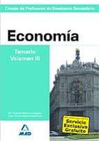 El libro de Cuerpo de profesores de enseñanza secundaria: economia: temario: volumen ii autor VV.AA. TXT!