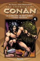 cronicas de conan nº 4: la cancion de red sonja y otras historias-roy thomas-barry windsor-smith-john buscema-9788467425062