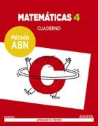 matemáticas 4º educacion primaria cuaderno método abn-9788469829462
