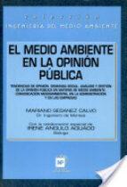el medio ambiente en la opinion publica-mariano seoanez calvo-9788471146762