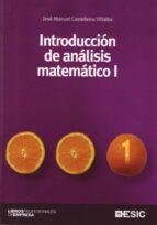 introduccion de analisis matematico i jose manuel castelleiro villalba 9788473564762