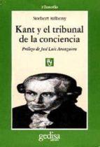 kant y el tribunal de la conciencia-norbert bilbeny-9788474325362