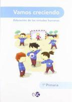 vamos creciendo 1 educacion primaria 1 ed 2009-9788480774062