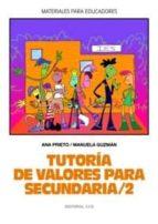tutoria de valores para secundaria (2)-ana prieto-manuela guzman-9788483166062