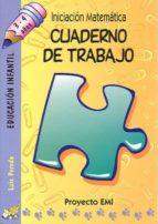 iniciacion matematica (3-4 años): cuaderno de trabajo (proyecto e mi)-9788483251362