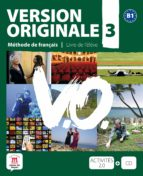 version originale 3 b1 livre de l eleve+cd-9788484435662
