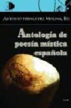 antologia de poesia mistica española antonio fernandez molina 9788495399762