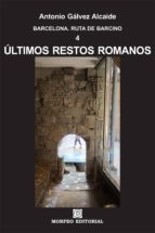 barcelona. últimos restos romanos (ebook)-cdlap00003062
