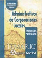 administrativos de corporaciones locales. ayuntamientos y diputac iones: temario-manuel segura ruiz-9788482191775