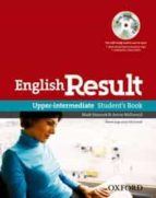 english result upper intermediate: student s book dvd pack 9780194129572