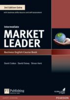 market leader 3rd edition extra intermediate coursebook with dvd rom pin pack 9781292134772