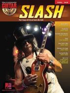 slash   guitar play   along volume 143 (book/cd) 9781458407672