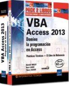 vba access 2013 michele amelot 9782746090972