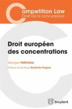 droit européen des concentrations (ebook) 9782802755272