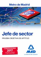 jefe de sector del metro de madrid: prueba objetiva de aptitud-9788414205372