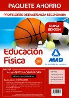 paquete ahorro educación física. cuerpo de profe sores de enseña-9788414215272