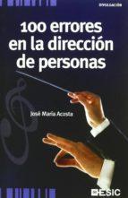 100 errores en la dirección de personas (ebook)-jose maria acosta-9788415986072