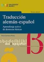 traduccion aleman español (3ª ed.): aprendizaje activo de destrezas basicas silvia gamero perez 9788417429072
