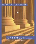 calculus (vol. i): una y varias variables (4ª ed.)-saturnino l. salas-einar hille-garret j. etgen-9788429151572
