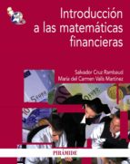 pack introduccion a las matematicas financieras salvador cruz rambaud 9788436830972