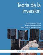 teoria de la inversion francisco blanco ramos maximo f. ferrando bolado maria fuencisla martinez lobato 9788436833072