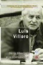 de la libertad a la comunidad (2ª ed.) luis villoro 9788437505572