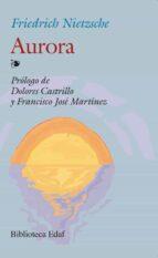 aurora friedrich nietzsche 9788441400672