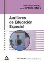 auxiliar de educacion especial: temario general 9788466519472