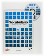 vocabulario a1. de las palabras al texto + cd-audio-marta higueras-9788467521672